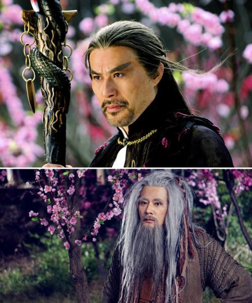 2 phiên bản Âu Dương Phong của Từ Cẩm Giang và Tông Phong Nham.