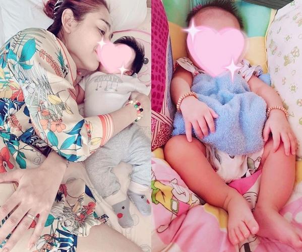 Lâm Khánh Chi hạnh phúc khi được làm mẹ.