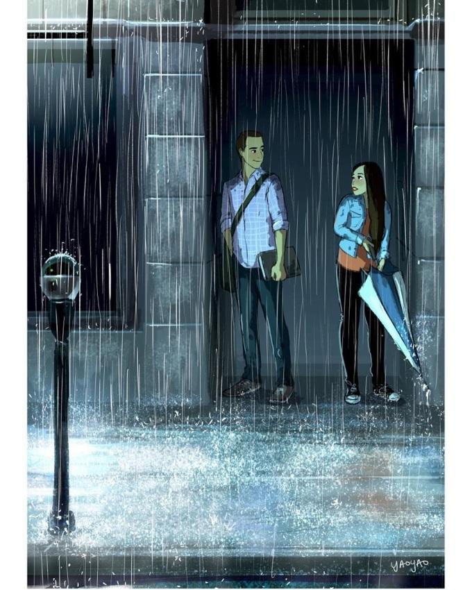 <p> Tình yêu bắt đầu khi hai ánh mắt chạm nhau, hai trái tim nhận được sự rung cảm đầu tiên.</p>