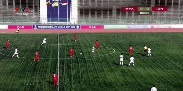 Sân vận động quốc gia Campuchia với mặt cỏ nhân tạo. Ảnh: Vietnam Football.