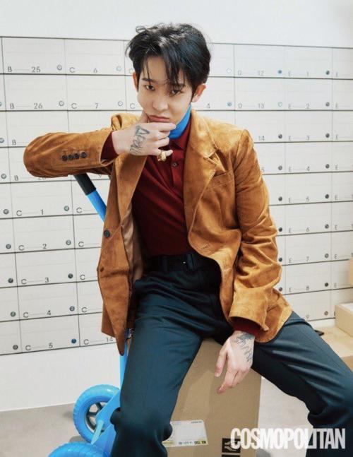 Cựu thành viên Winner, Nam Tae Hyun thực hiện cuộc phỏng vấn trên Cosmopolitan. Anh chàng chia sẻ về cuộc sống tự do, được trung thực với cảm xúc của mình.