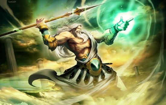 Bạn biết gì về Thần Zeus quyền năng?
