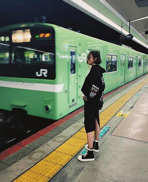 Văn Mai Hương đi Nhật nhiều như đi chợ.