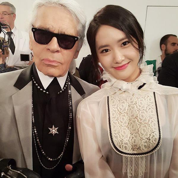 Những sao Hàn từng đứng chung khung hình cùng biểu tượng thời trang Karl Lagerfeld - 5