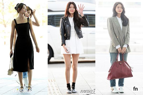 Những lần diện trang phục đơn giản, màu sắc trung tính, Seol Hyun được khen ngợi hơn hẳn.