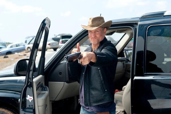 Harrelson là nam diễn viên có nhiều cảnh hành động nhất Zombieland phần đầu.
