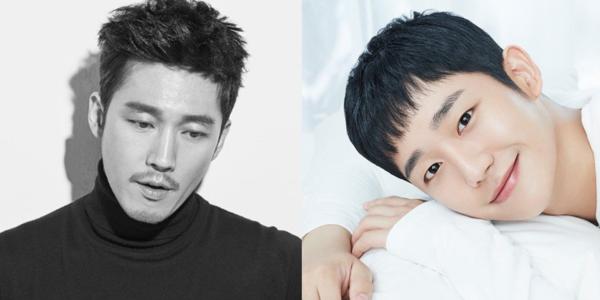 Jang Hyuk và Jung Hae In.