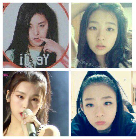 Đôi mắt một mí của Yeji khiến nhiều người nhớ đến Seul Gi. Thành viên ITZY đặc biệt giống tiền bối nhà SM thời còn là thực tập sinh.