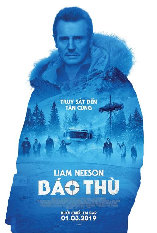 Bố già Liam Neeson báo thù dữ dội trong phim mới