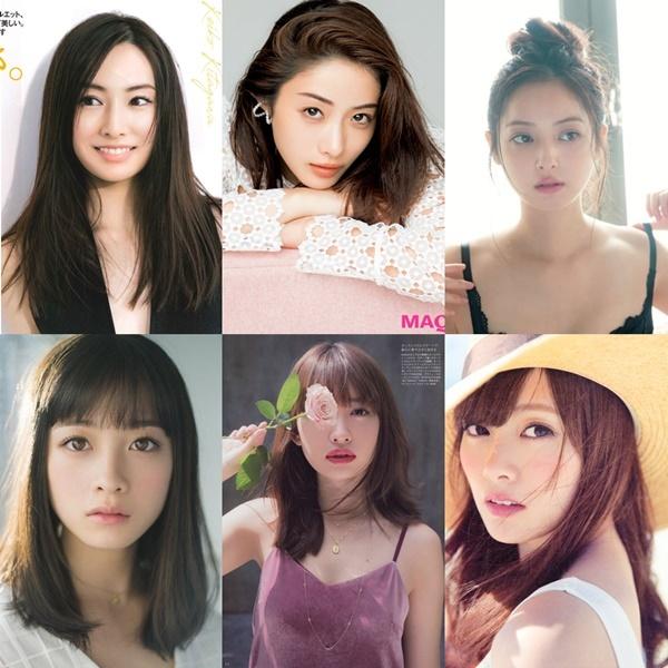 Khán giả Nhật Bản thì lại ưa chuộng nhan sắc của những mỹ nhân như Keiko Kitagawa, Satomi Ishihara, Nozomi Sasaki, Kanna Hashimoto, Haruna Kojima, Mai Shiraishi...