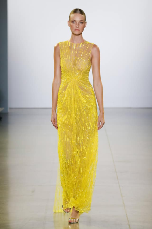Thiết kế này nằm trong BST mới nhất của Công Trí tại New York Fashion Week 2019.