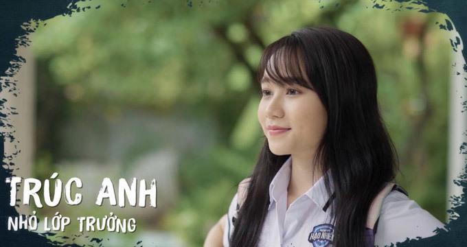 <p> Là gương mặt mới của điện ảnh Việt, Trúc Anh mới chỉ tham gia vào các dự án phim online cho tuổi teen như<em> Hoàng hôn đến từ bình minh, Nhà nàng ở cạnh nhà tôi, Ê! Nhỏ lớp trưởng.</em></p>