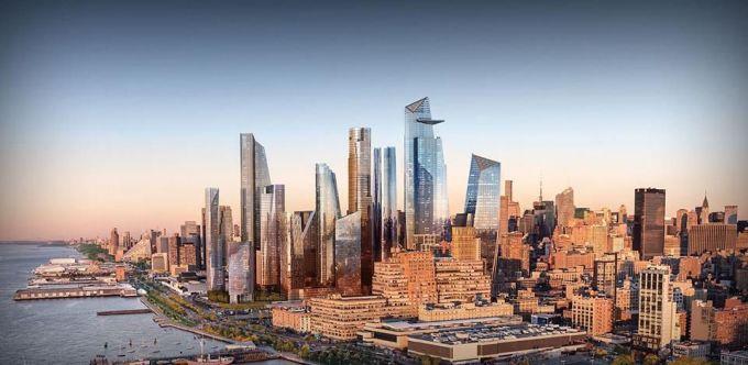 <p> <strong>Hudson Yards, New York, Mỹ</strong></p> <p> Thành phố New York có thêm một khu công trình phức hợp đa mục đích Hudson Yards. Đây được xem là khu bất động sản phức hợp lớn nhất nước Mỹ hiện nay với những công trình kiến trúc từ nhà hát, triển lãm, khách sạn, tới nhà hàng, phòng gym...</p>