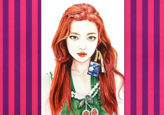 Nhận dạng idol Kpop qua hình vẽ siêu dễ thương (3) - 1