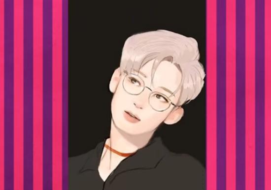 Nhận dạng idol Kpop qua hình vẽ siêu dễ thương (3) - 2