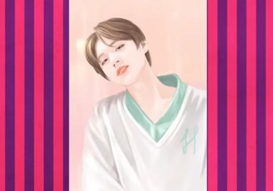 Nhận dạng idol Kpop qua hình vẽ siêu dễ thương (3) - 4
