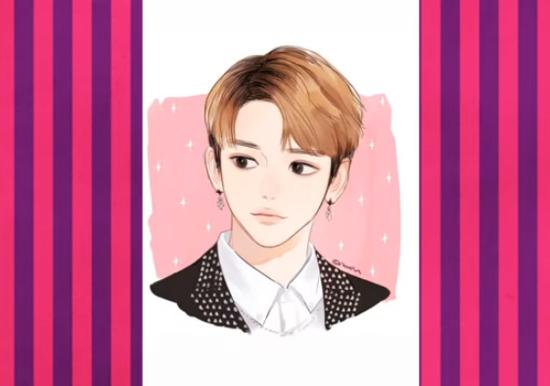 Nhận dạng idol Kpop qua hình vẽ siêu dễ thương (3) - 6