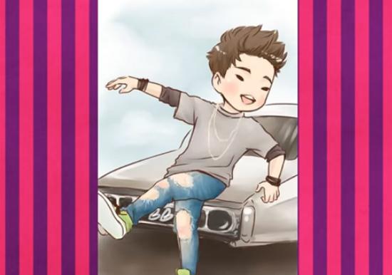 Nhận dạng idol Kpop qua hình vẽ siêu dễ thương (3) - 8