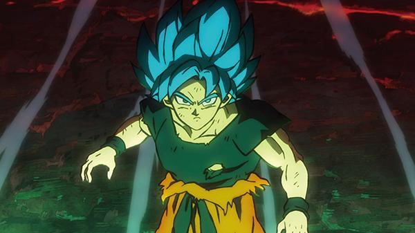 Goku buộc phải dùng tới Super Saiya Blue để đấu với kẻ thù.