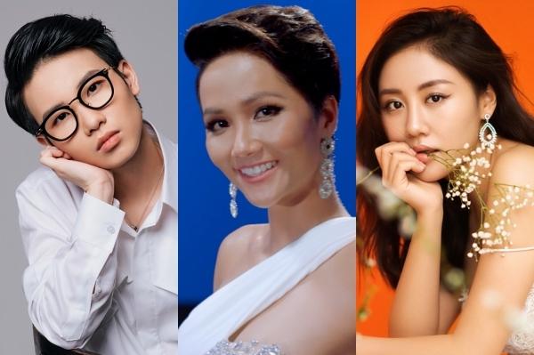 3 nghệ sĩ Việt cùng đồng hành ở dự án.