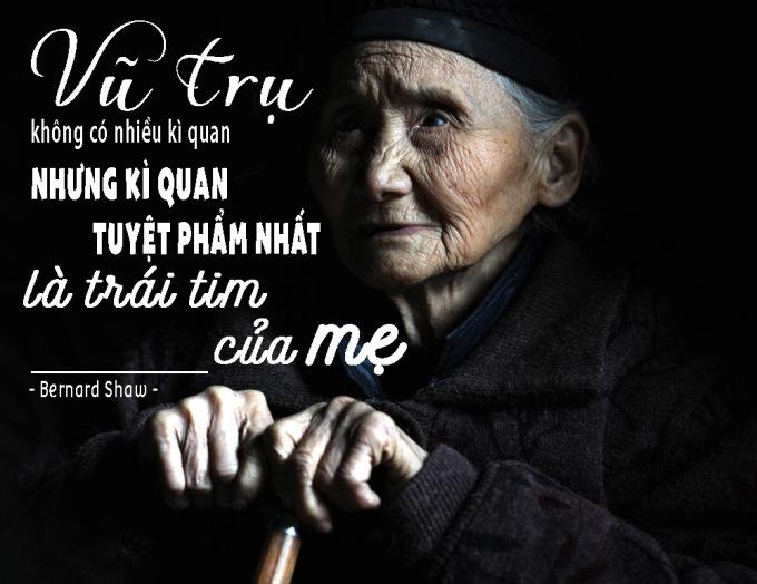 <p> Bạn không thể biết trái tim của mẹ vô giá và tuyệt vời đến độ nào!</p>
