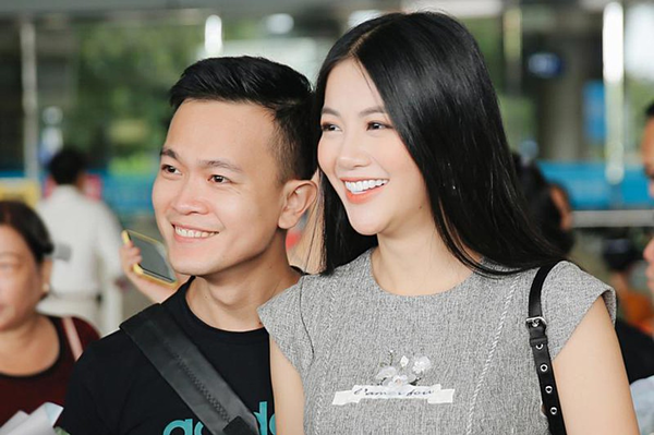 Anh trai luôn đồng hành với Phương Khánh ở các sự kiện.