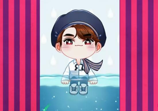 Nhận dạng idol Kpop qua hình chibi dễ thương (4) - 2
