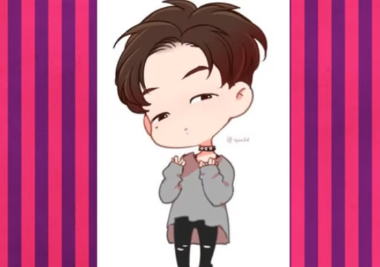 Nhận dạng idol Kpop qua hình chibi dễ thương (4) - 4