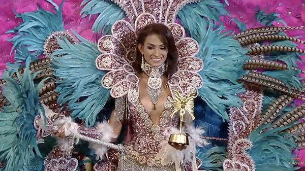 đại diện của Nicaragua thắng trang phục đẹp nhất.