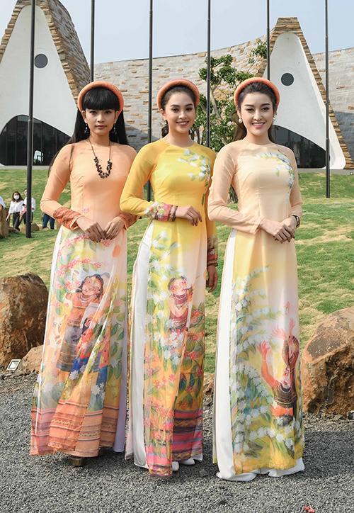 Á hậu Huyền My - Trương Thị May - Tiểu Vy