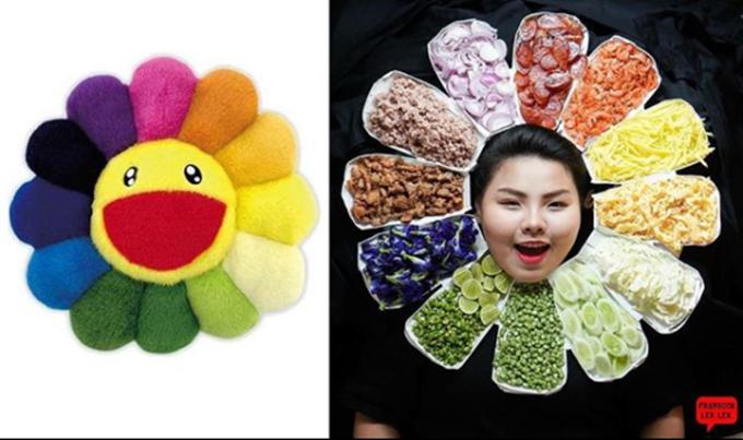 <p> Biến hóa thành bông hoa một cách rất Sine! Cô nàng khiến mọi người bật cười với những màn hóa trang sáng tạo.</p>