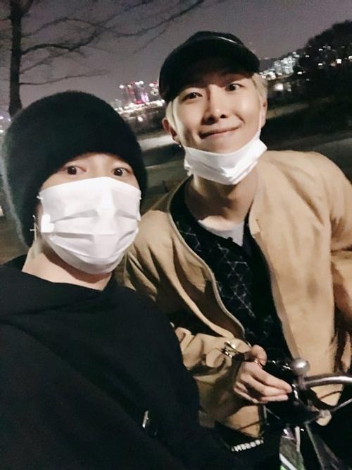 RM và Ji Min