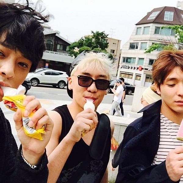 Jung Joon Young, Seung Ri và Jong Hoon là bạn thân.