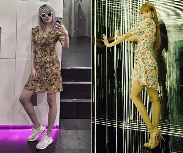 Hai nữ idol có khả năng biến những món đồ trông khá bánh bèo trở nên đầy cá tính, thu hút.