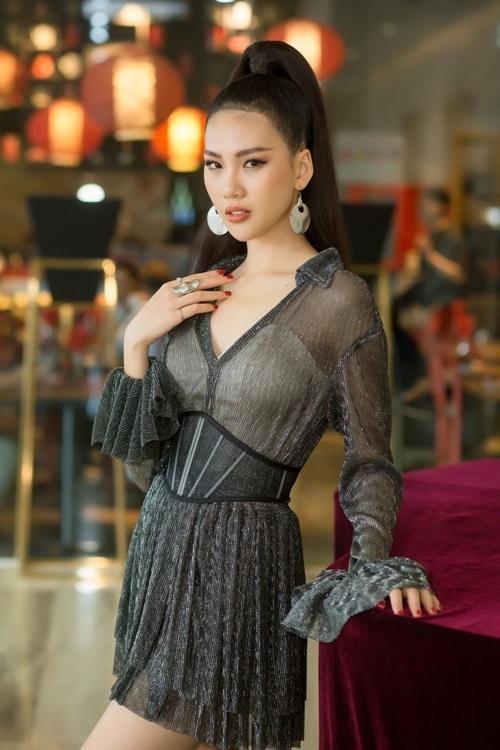 Siêu mẫu Bùi Quỳnh Hoa.