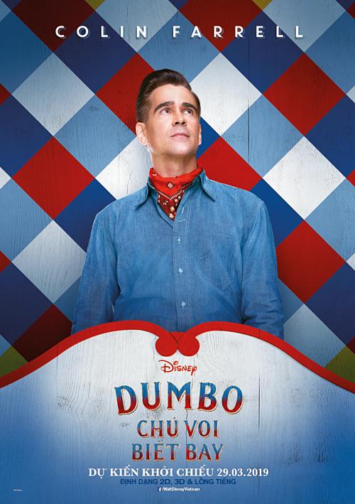 Bộ phim ngập tràn cảm xúc Dumbo trở lại cùng dàn sao Hollywood  - 3