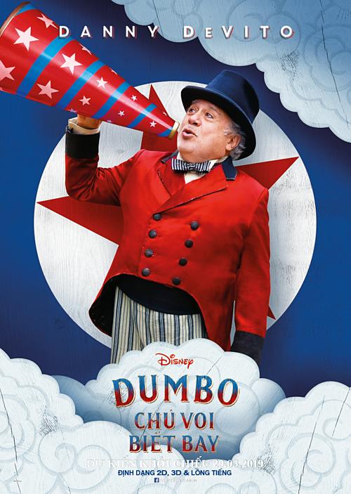 Bộ phim ngập tràn cảm xúc Dumbo trở lại cùng dàn sao Hollywood  - 1