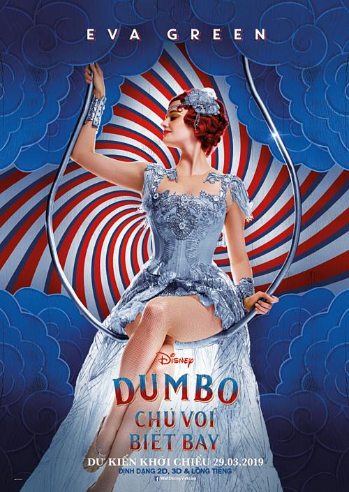 Bộ phim ngập tràn cảm xúc Dumbo trở lại cùng dàn sao Hollywood  - 2