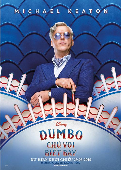 Bộ phim ngập tràn cảm xúc Dumbo trở lại cùng dàn sao Hollywood