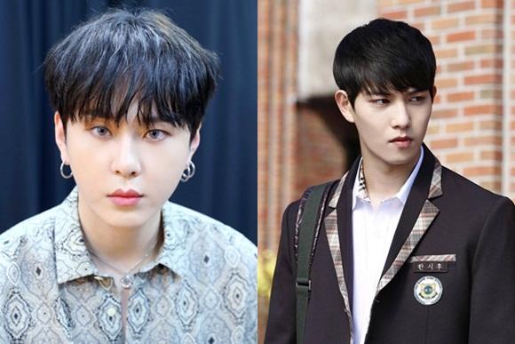 Jun Hyun (ảnh trái) và Lee Jong Hyun không có trong nhóm chat 8 người.