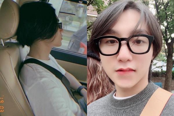 Em trai Sơn Tùng (trái) ngày càng giống anh trai.