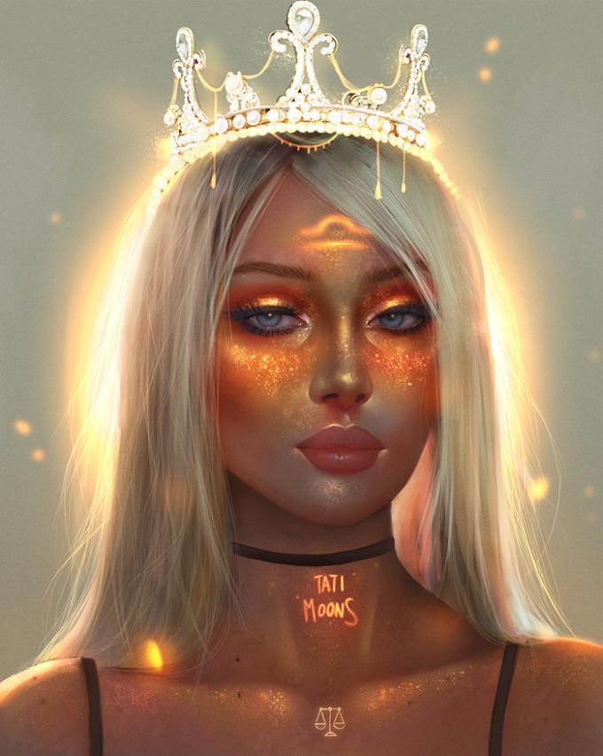 <p> Thiên Bình: Nàng công chúa thanh nhã chốn cung đình.</p>