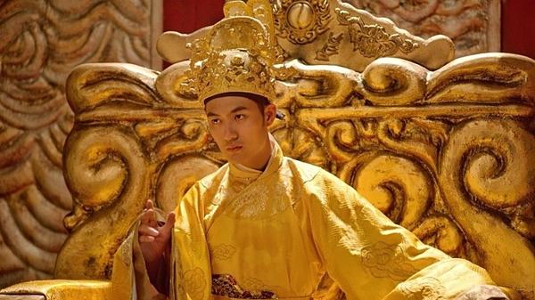 Đức Thành trong phim Trạng Quỳnh.