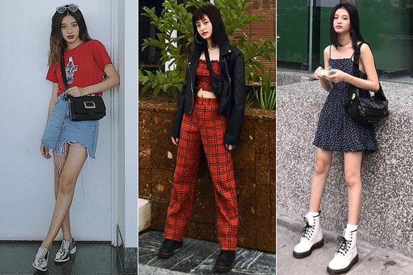 Thời trang đời thường đẹp mắt giúp Minh Ngọc ngoài vai trò diễn viên sitcom còn được xem là fashion icon với giới trẻ.