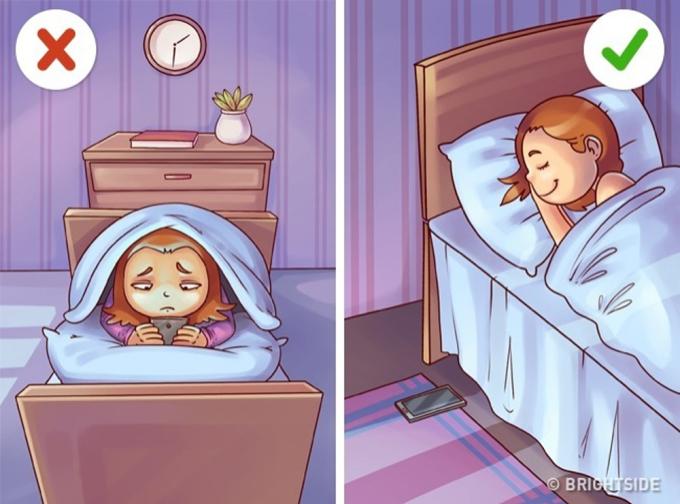<p> Nhắn tin với người yêu quá 12 giờ đêm luôn là chuyện thường thấy của các cặp đôi. Nhưng bạn nên ngủ trước 12 giờ, điều này sẽ tốt cho sức khỏe của hai bạn.</p>
