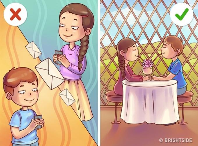 <p> Thay vì liên tục nhắn tin, những buổi gặp mặt trực tiếp sẽ giúp hai bạn được trò chuyện và hiểu rõ về nhau hơn đấy!</p>