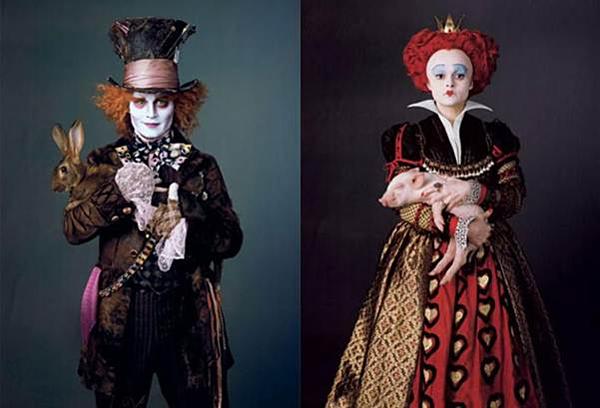 Alice in Wonderland được Tim Burton mang đến một màu sắc độc nhất vô nhị.