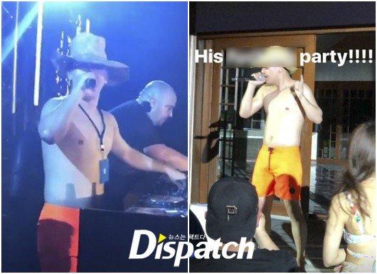 Seung Ri bị Dispatch khui tổ chức tiệc ở đảo Palawan với chi phí 480.000 USD.