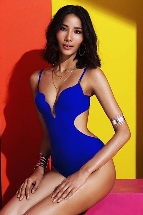 Hoàng Thùy được đồn đoán là đại diện Việt Nam dự thi Miss Universe 2019. BTC chưa lên tiếng xác nhân nhưng cô vẫn là ứng cử viên được người hâm mộ ủng hộ nhất.