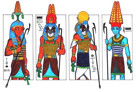 Am hiểu về các vị thần Ai Cập huyền bí